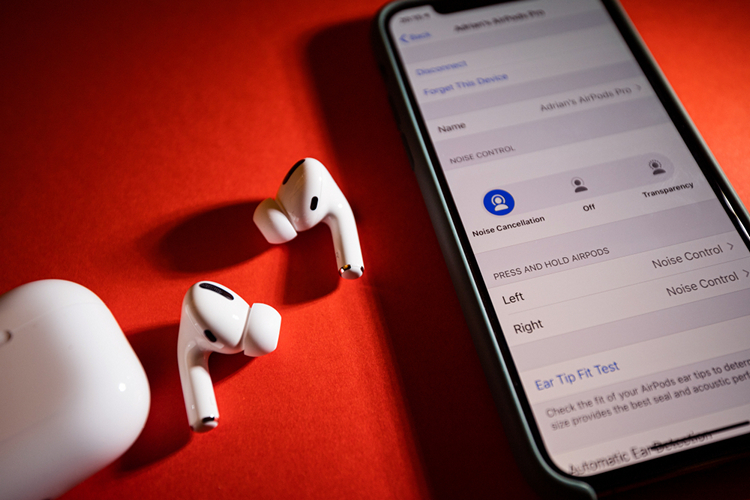 Whistling Activates Noise Cancelation on Apples AirPods Pro