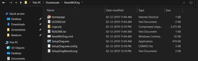 Windows 10 застрял на проверке обновлений 5