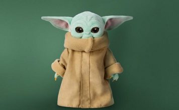 baby yoda plush