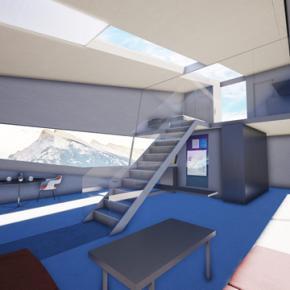 cybunker living room