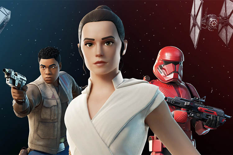 Fortnite Adds Star Wars Themed Skins and Emotes