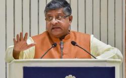 india telecom minister ravi shankar prasad