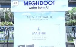 indian railways water from air meghdoot
