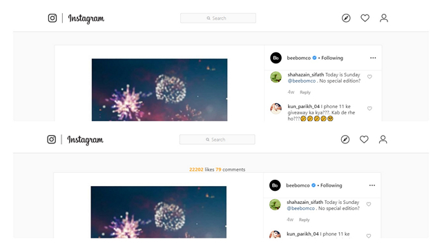 This Chrome Extension Lets You View Instagram Likes Count