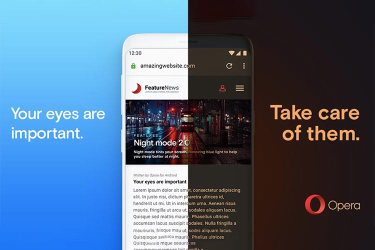 Opera for Android Brings a New Night Mode with Latest Update