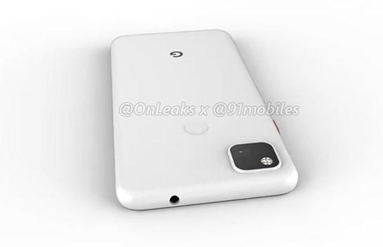 pixel 4a square camera bump fingerprint scanner