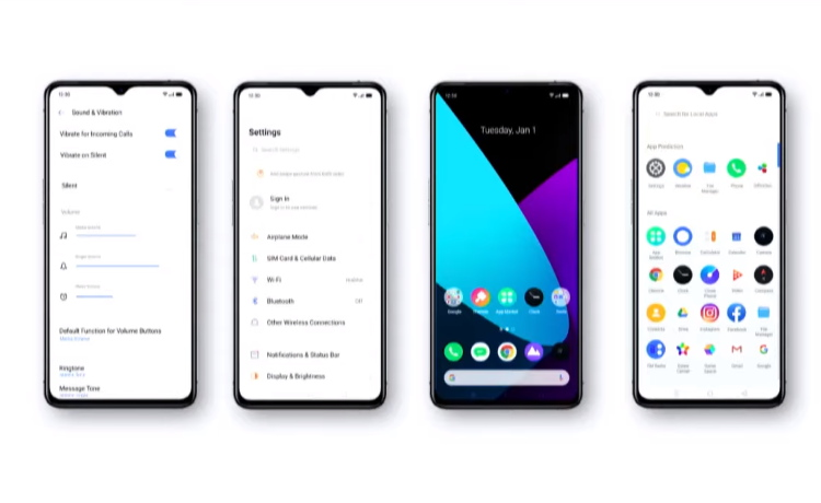 realme UI - new based on ColorOS 7