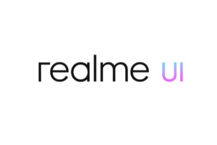 realme UI shown off on stage
