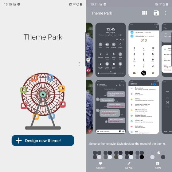 samsung theme park good lock module - OneUI