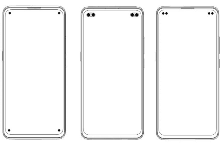 vivo patents displays with four punch-hole cameras