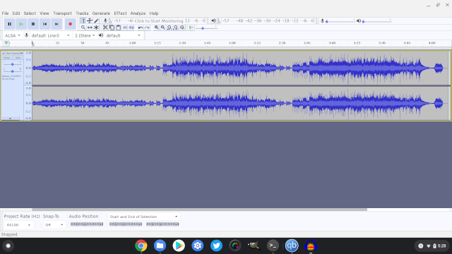 10. Audacity Best Linux Apps on Chromebook