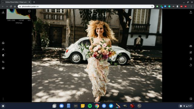 4. Polarr Best Photo Editors for Chromebook