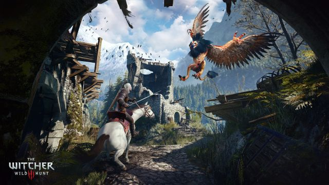 4. The Witcher 3