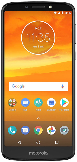 6. Motorola Moto E5