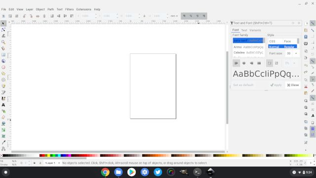 8. Inkscape Best Drawing Apps for Chromebook