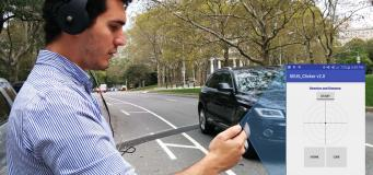 AI Headphones Warns Distracted Pedestrians About Nearby Vehicles