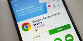 Chrome Android shutterstock website