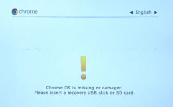 Chrome OS is Missing or Damaged? Here's the Fix