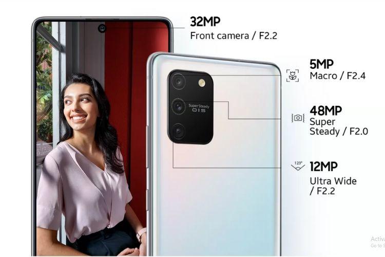 Galaxy S10 Lite cameras