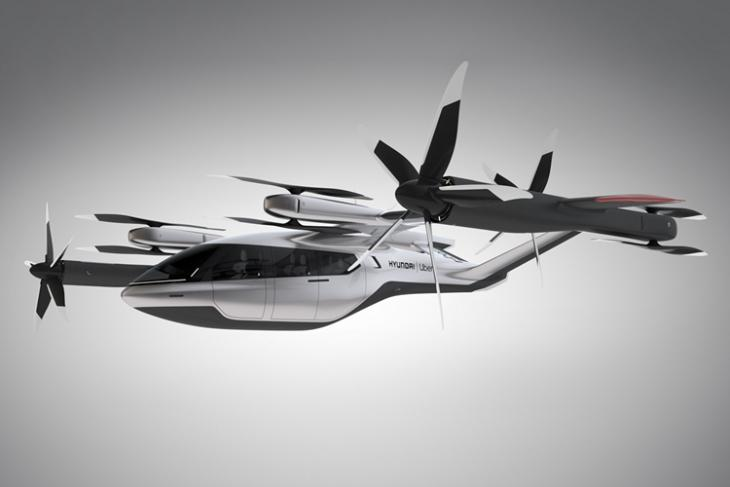 Hyundai Partners with Uber for Flying Taxis