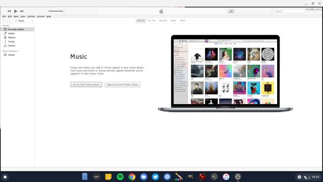 Install iTunes on Chromebook 3