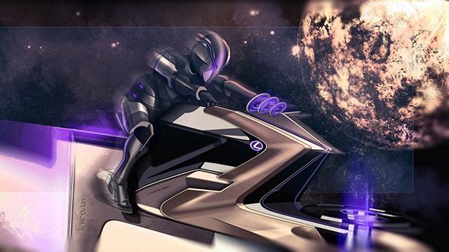 Lexus Zero Gravity Concept