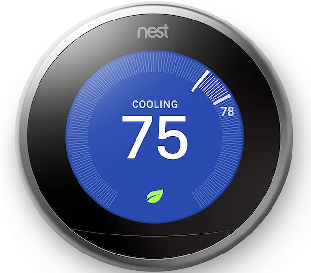 Nest Thermostat - Examples of Internet of Things Technology