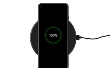 OnePlus 8 - wireless charging