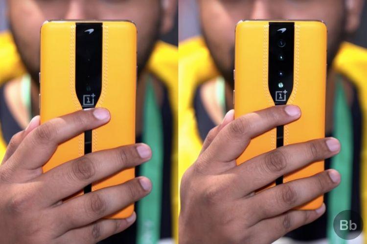 OnePlus Concept One comparison shot