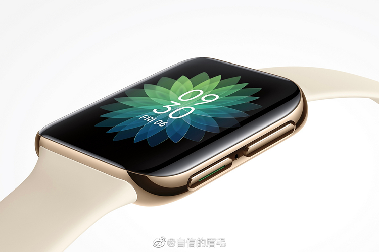 OPPO officially unveils renders of their first smartwatch