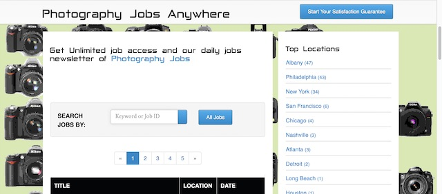 Photography Jobs Central