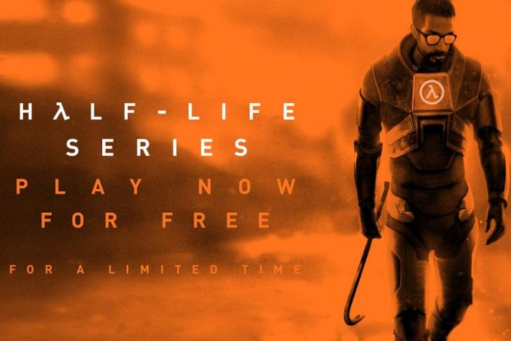 Play Half-Life Series for Free Now on Steam