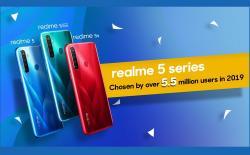 Realme 5 series sales website