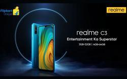 Realme C3 teaser website