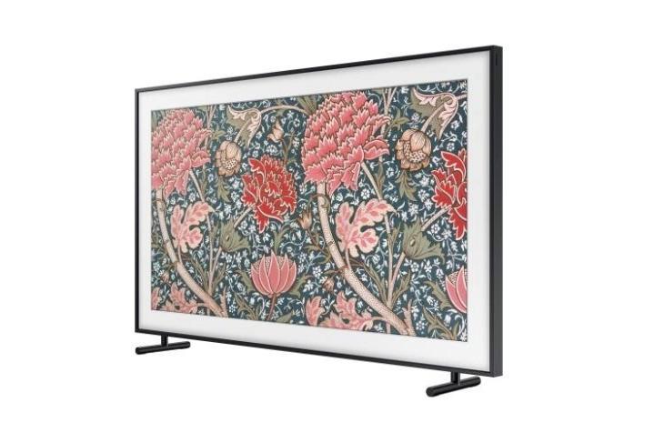 Samsung The Frame TV website