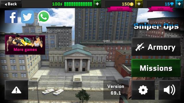 Sniper Game 3D Ops