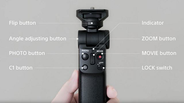 Sony GP-VPT2BT Wireless Camera Grip