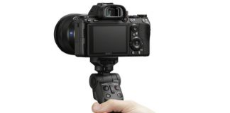 Sony wireless camera grip