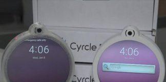 This Circular Phone Has Two Headphone Jacks