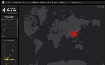 This Map Tracks the Spread of Novel Coronavirus in Real-Time
