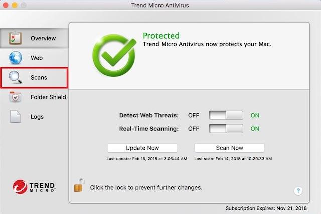 Trend Micro antivirus for macOS