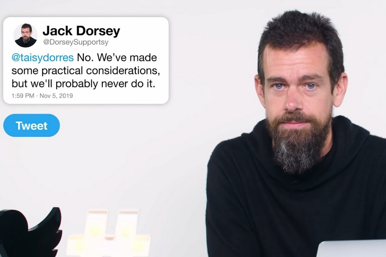 Twitter Edit Button Dorsey website