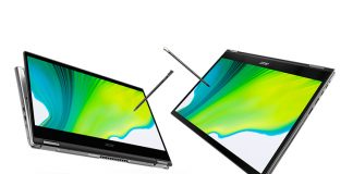 acer spin 3 spin 5 unveiled ces 2020