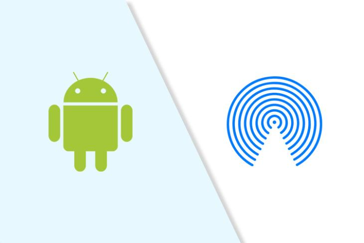 android airdrop like feature nearby share