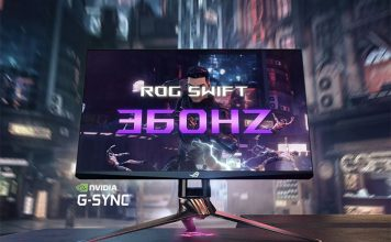 asus rog swift 360hz gaming monitor