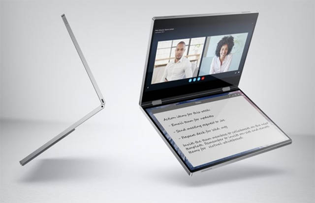 CES 2020: Dell's Shows off the Concept Ori and Concept Duet Laptops