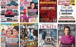 e Magazines website