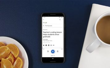 google read it feature ces 2020