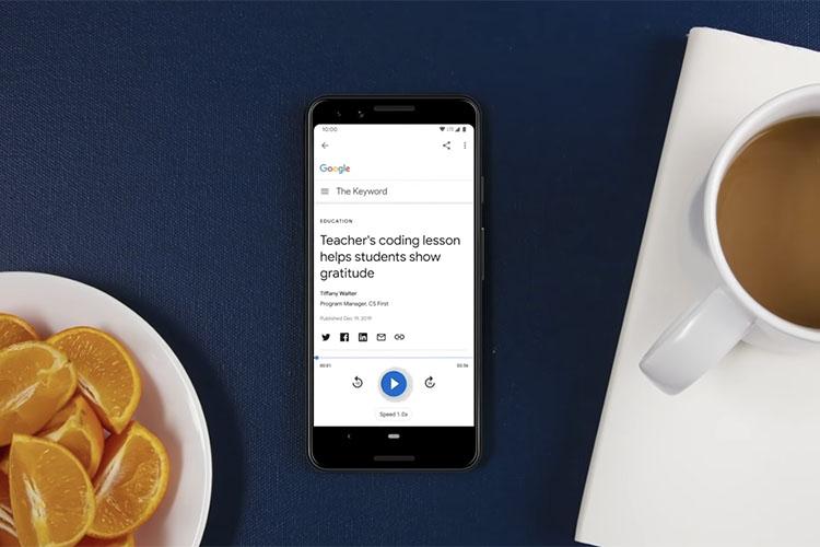 google read it feature ces 2020