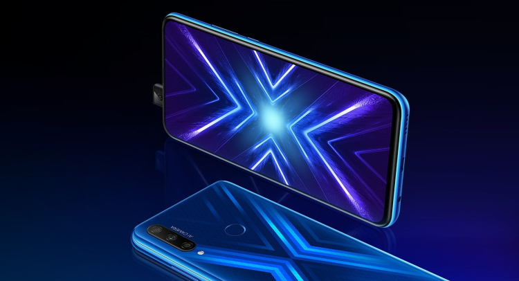 honor 9X - display and rear panel design